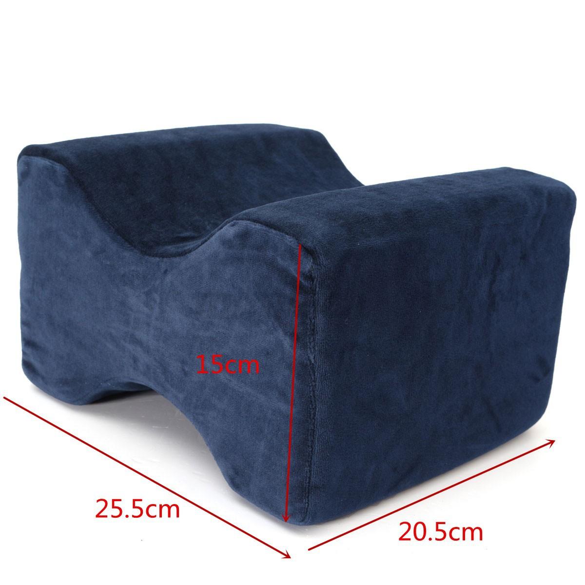 Contour Memory Foam Leg Pillow Orthopaedic Back Knee
