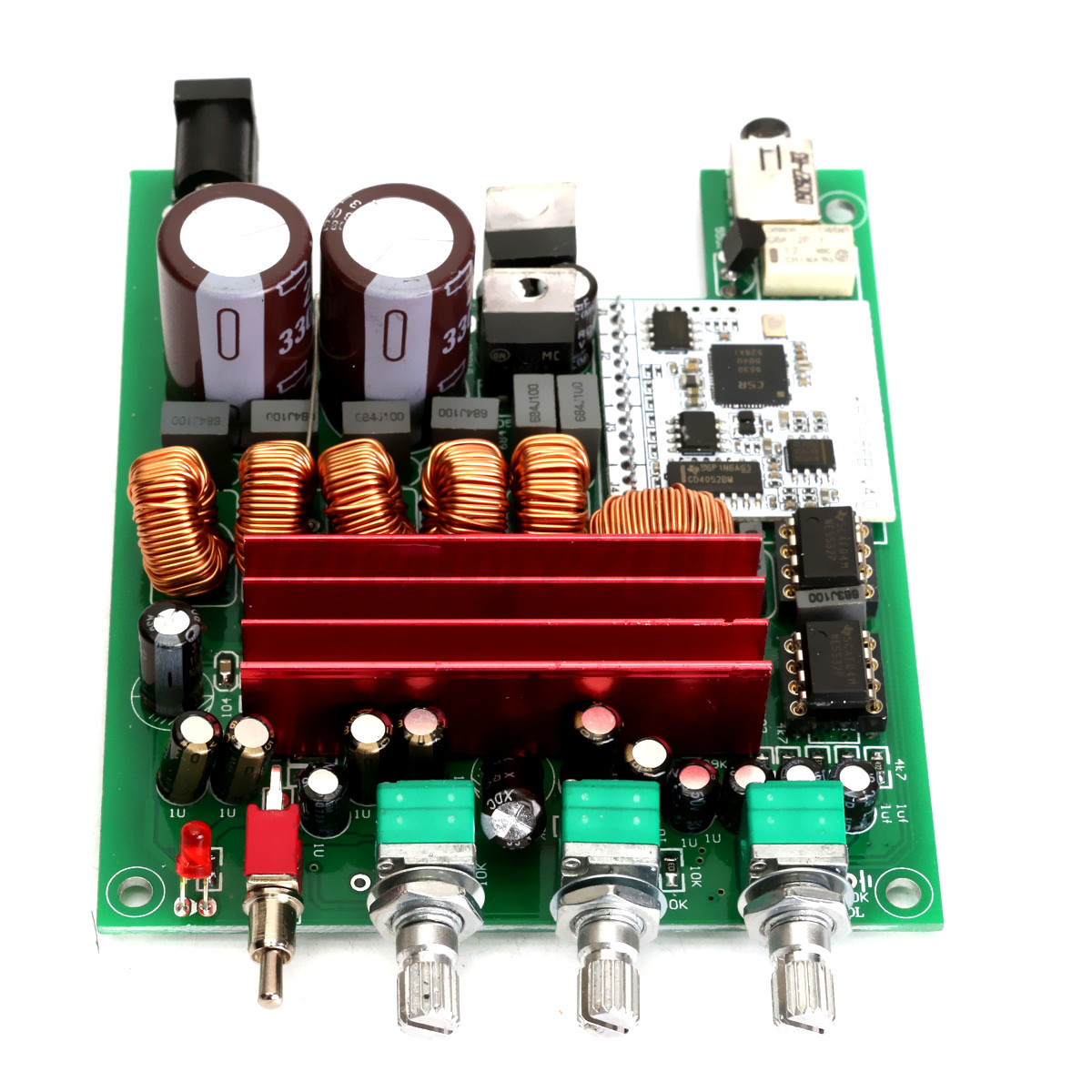 tpa3116 bluetooth digital 4 0 hifi amplifier 2 1 subwoofer. Black Bedroom Furniture Sets. Home Design Ideas