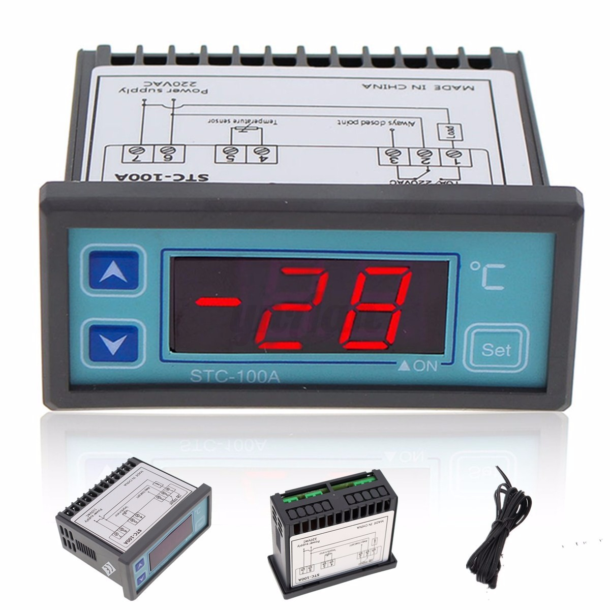 110/220V LED Digital Temperature Controller Thermostat Regulator  #C20911