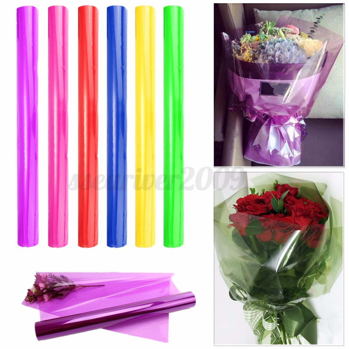 cellophane wrapping paper Create custom printed cellophane bags and gift wrap heat shrinkable packaging.