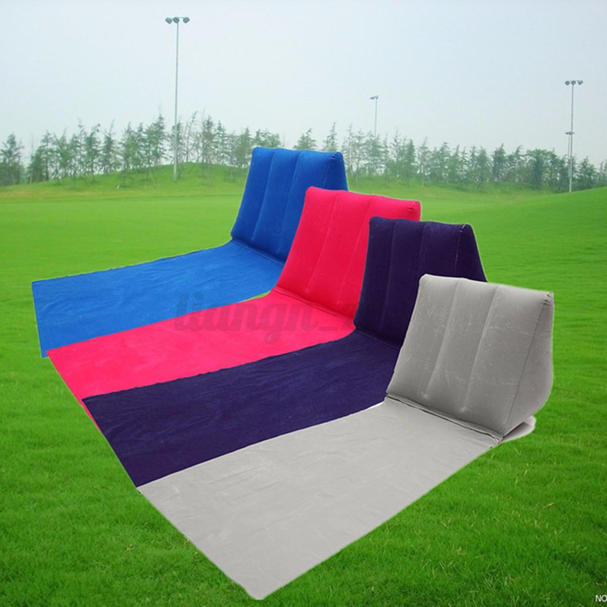Gonflable plage transat retour oreiller coussin de chaise for Chaise gonflable