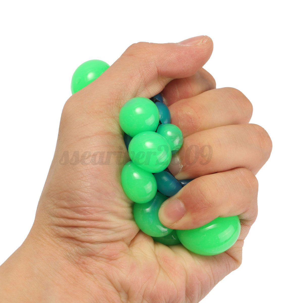 Squishy Ball Neon Mesh Squishy Ball : Novelty Squishy Colored Mesh Stress Ball Squeeze Stressball Party Bag Fun Gift eBay