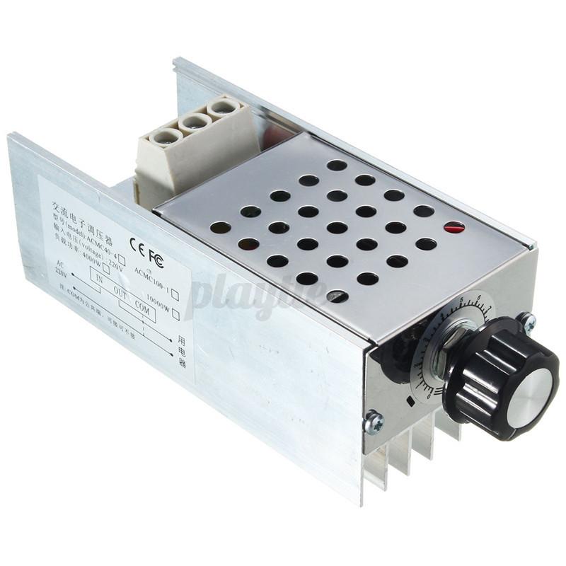 10000w Scr Voltage Regulator Speed Controller Dimmer