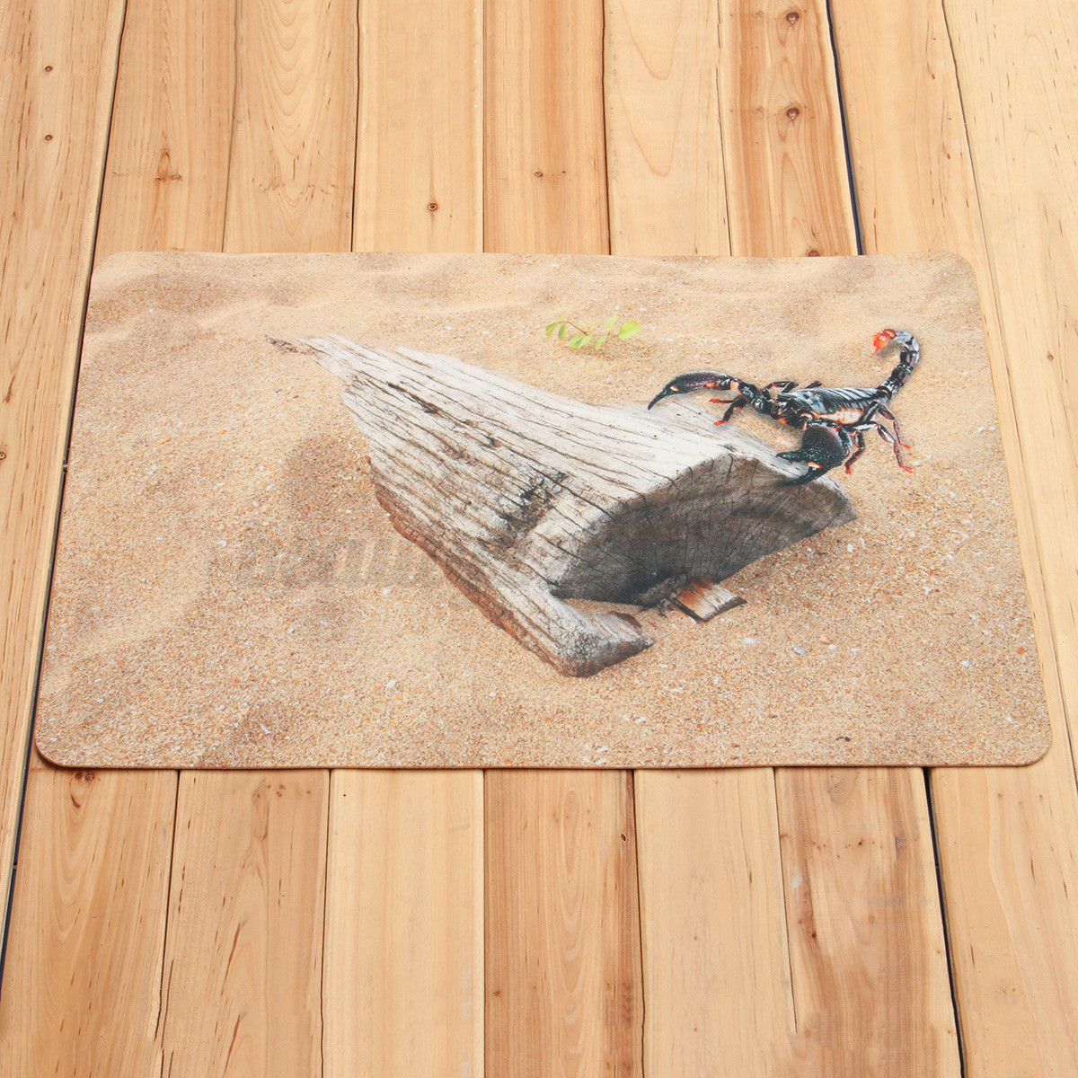 3D Scorpion Beach Door MAT NON Slip RUG Living Room