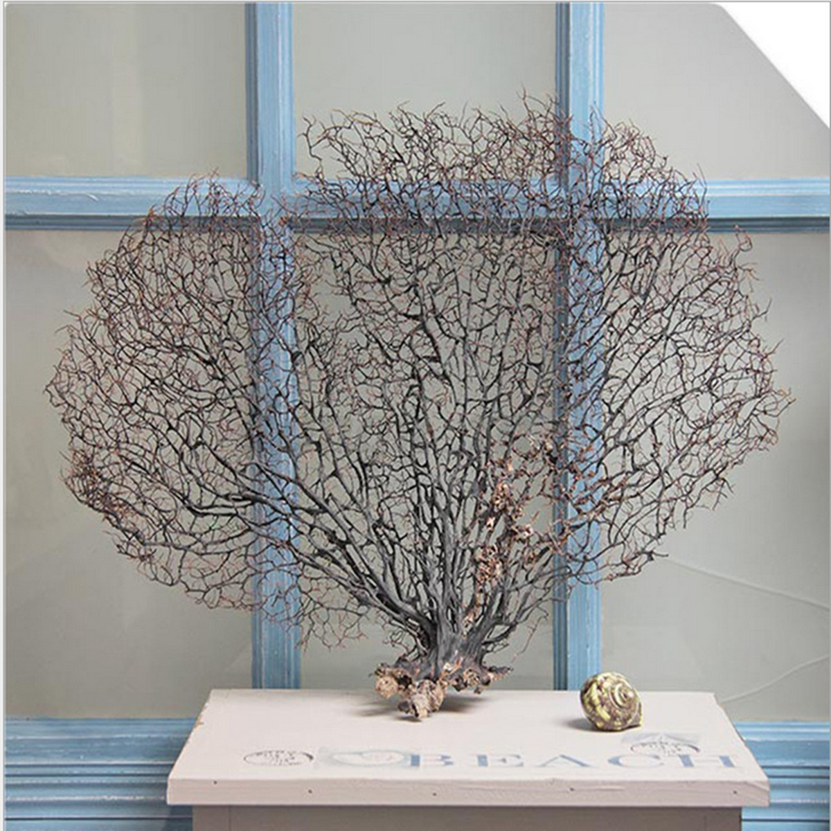 Arbre Artificielle Plantons Aquatique pr Fish Tank Aquarium Ornement Décoration 2