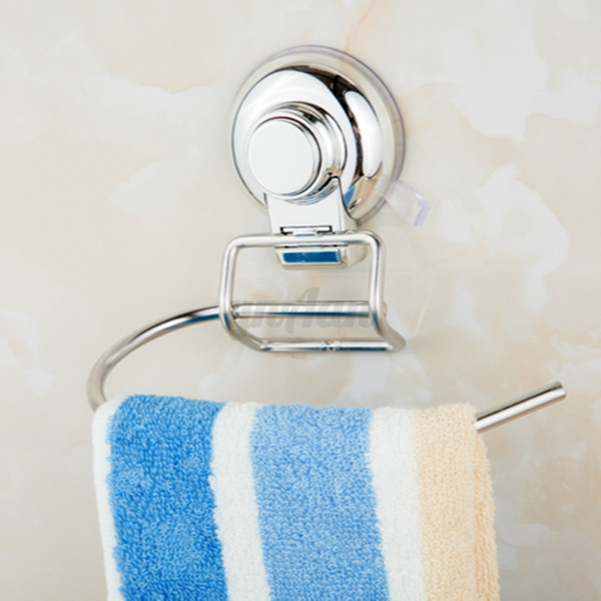 paper tissue towel rail holder wall mount bathroom rack stainless