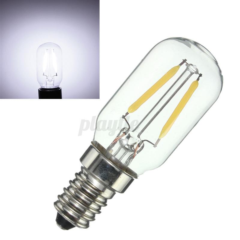 e14 2w cob led edison light freezer fridge lamp. Black Bedroom Furniture Sets. Home Design Ideas
