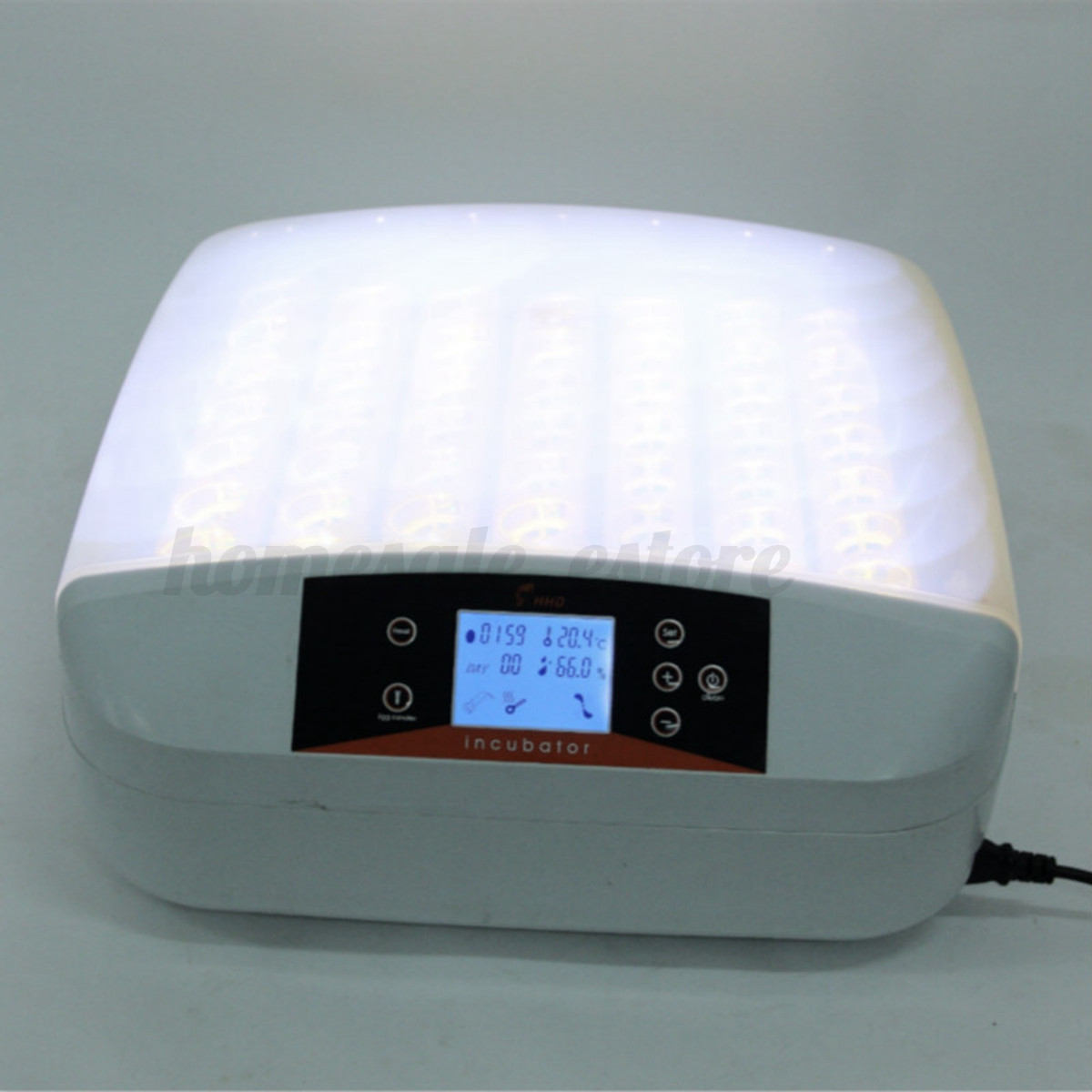 New Clear Egg Incubator Hatcher 56 Digital Temperature Control  #1D59AE