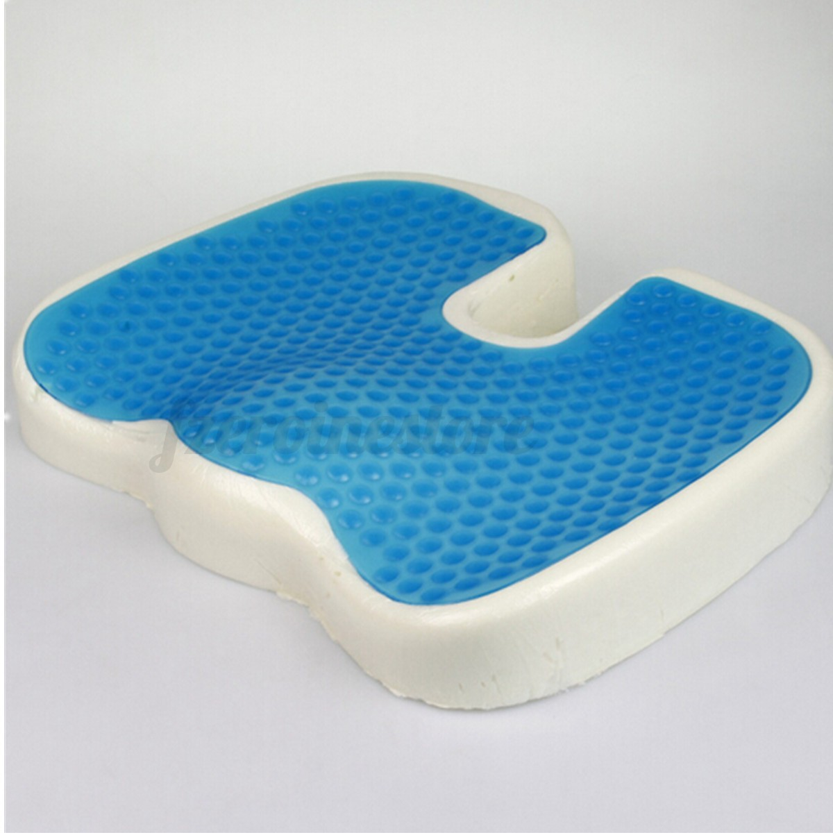 Coccyx Orthopedic Gel enhanced fort Memory Foam Seat