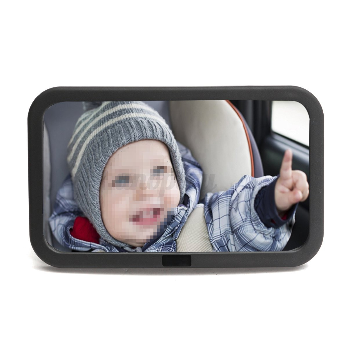 adjustable wide view baby child car safety back seat mirror rear headrest mount ebay. Black Bedroom Furniture Sets. Home Design Ideas