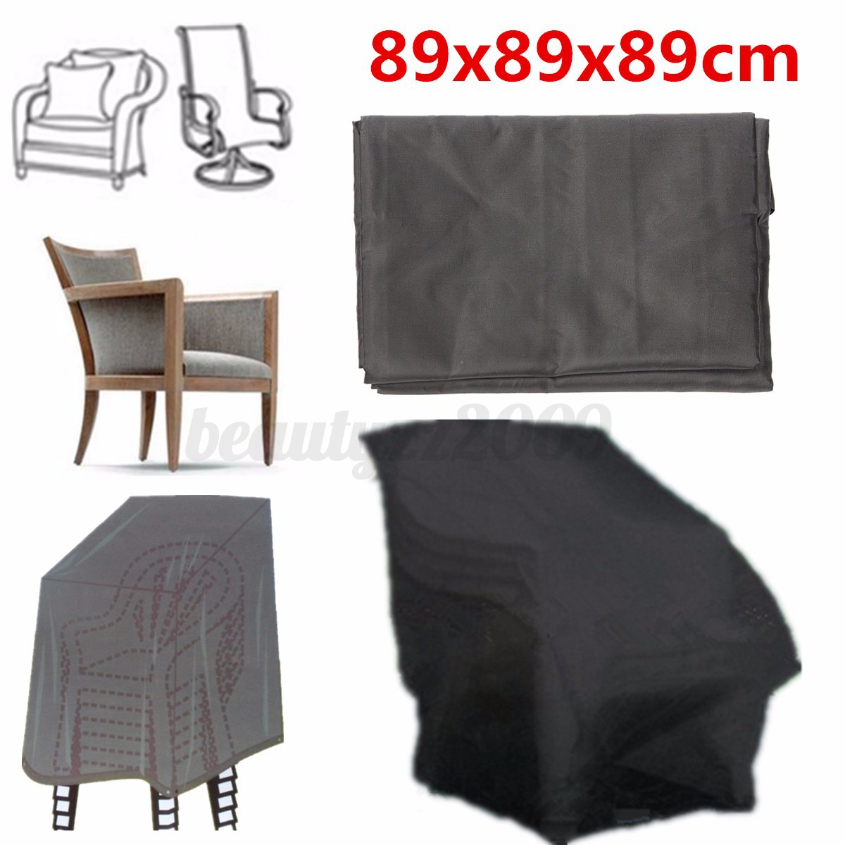 Waterproof Chair Cover For Outdoor Garden Patio Furniture