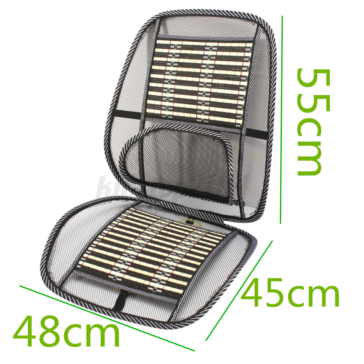 summer cooling mesh mat wire bamboo chip seat cushion cover for car home office ebay. Black Bedroom Furniture Sets. Home Design Ideas