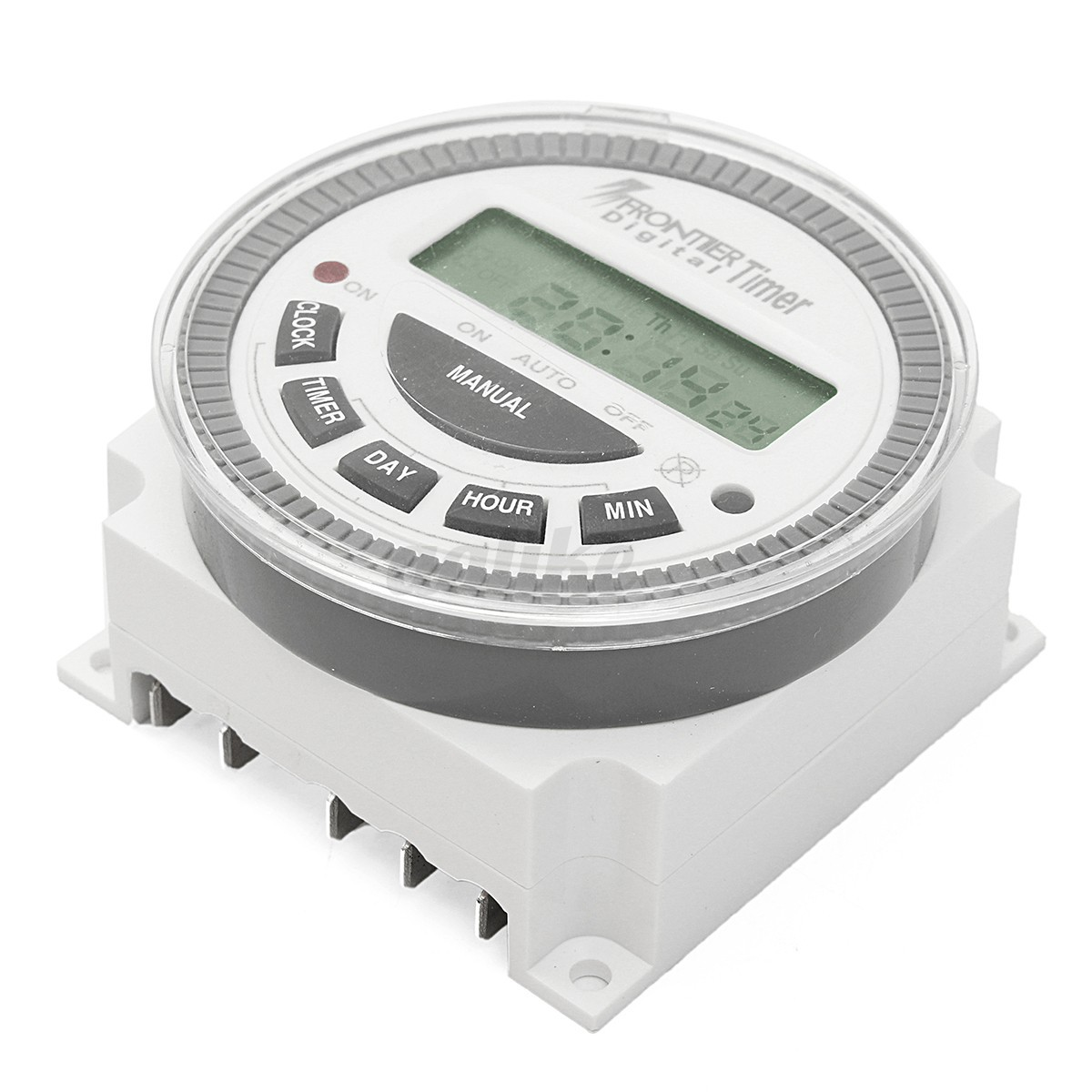 Digital Power Timer : New ac v digital lcd power programmable timer