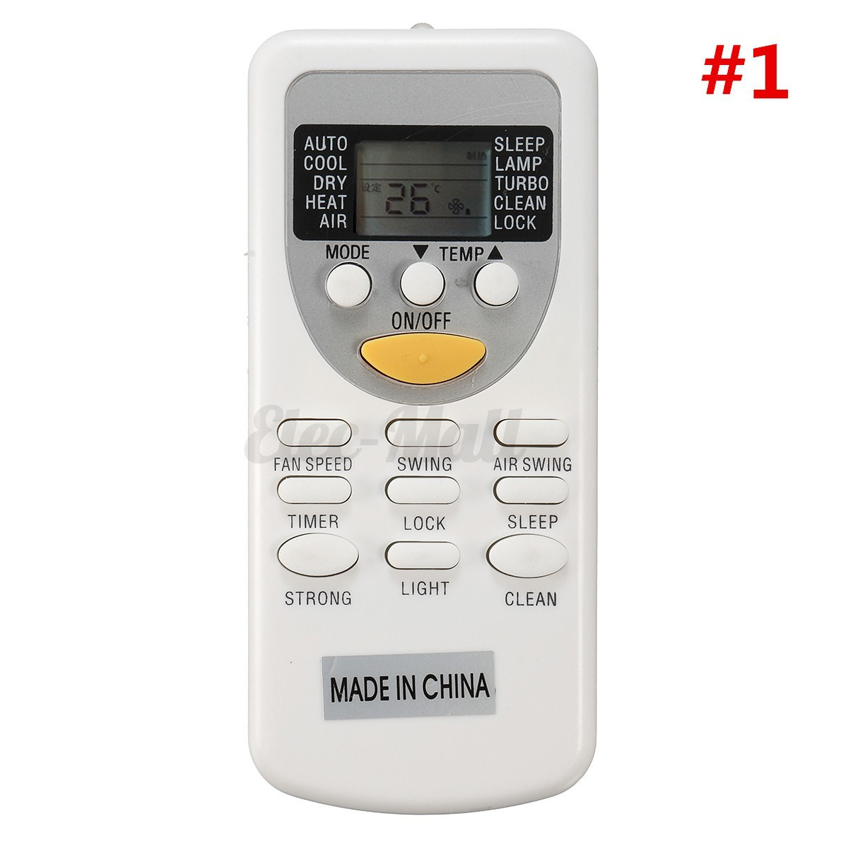 about Air Conditioner Remote Control Replacement For Chigo/SAMSUNG/ LG  #BF0C0C