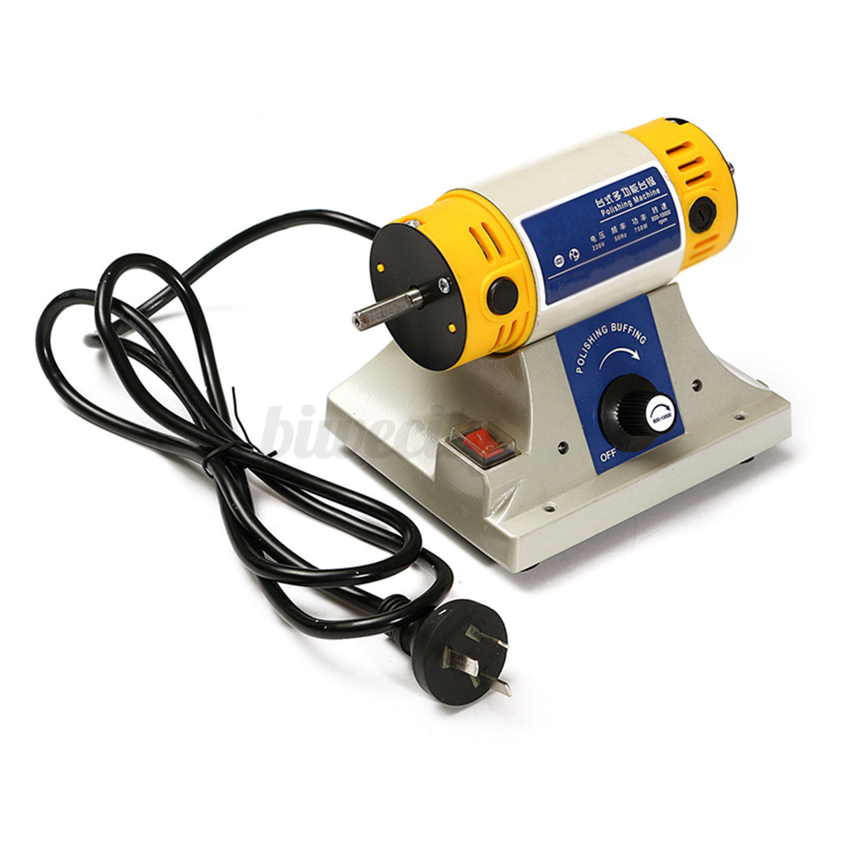 220v Mini Polishing Machine For Jewelry Dental Motor Lathe Bench Grinder Tools Ebay