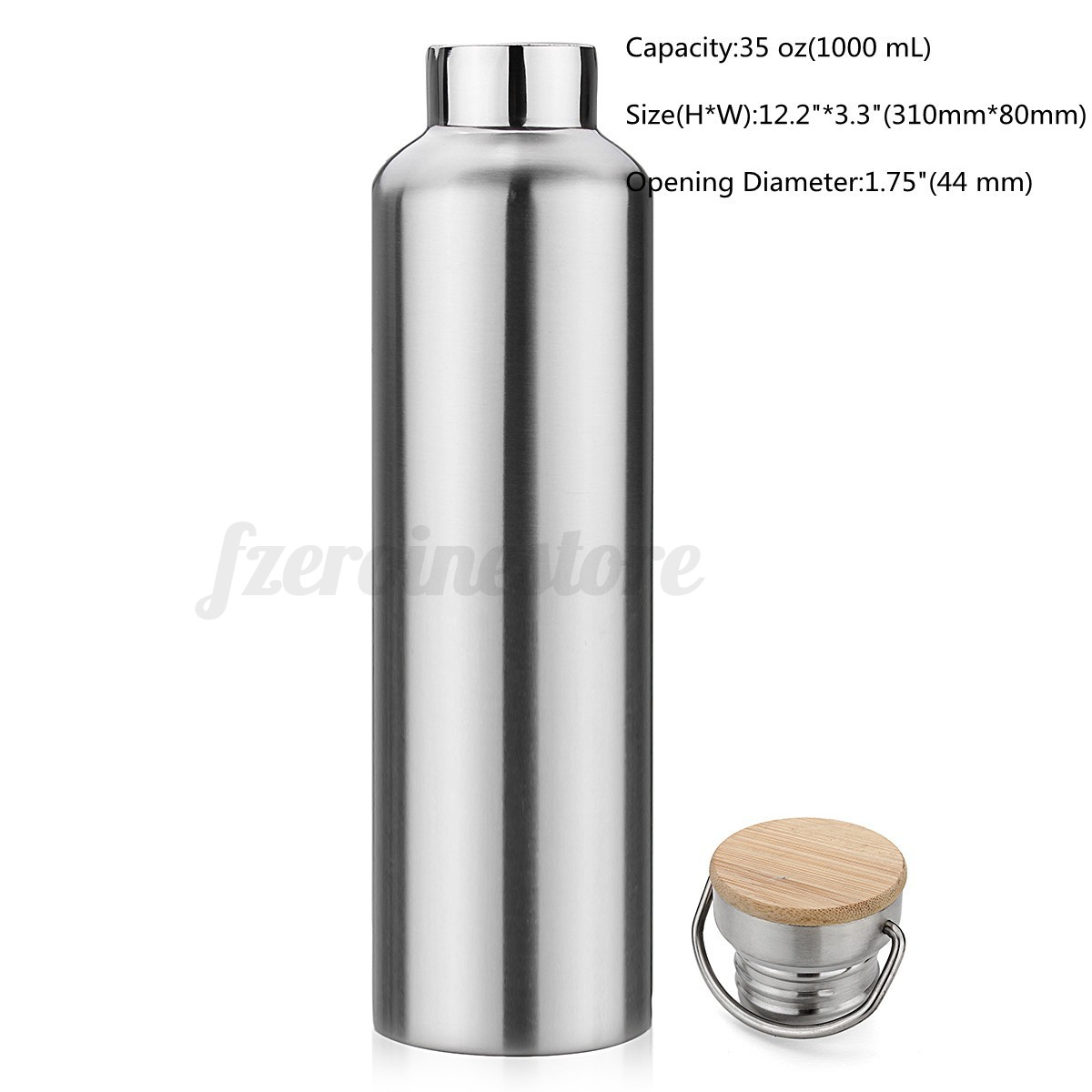 Stainless Steel Water Bottle for Travel Outdoor Yoga Camping Hiking Cycling