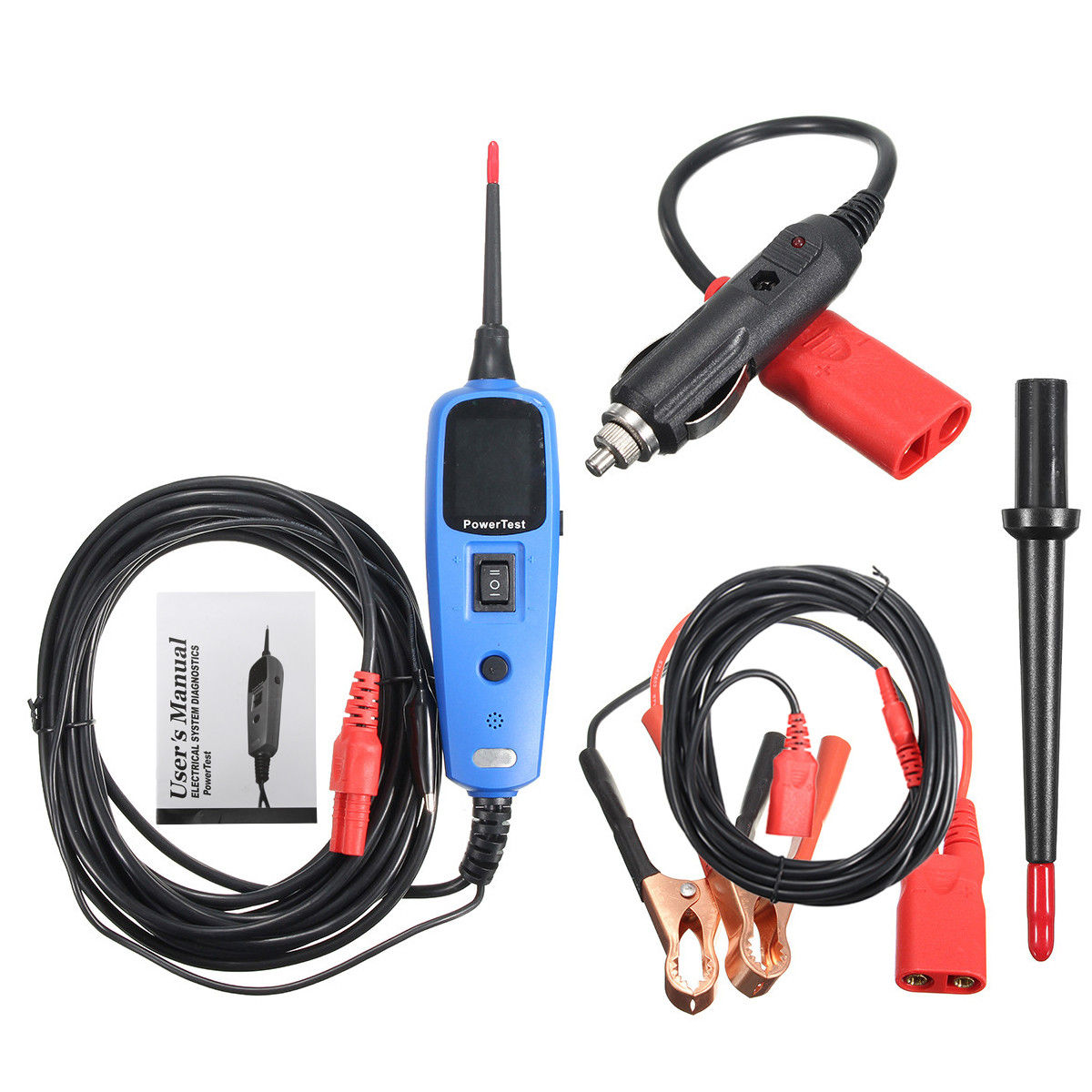 Power Probe Circuit Tester : Automotive power probe supply circuit tester electrical