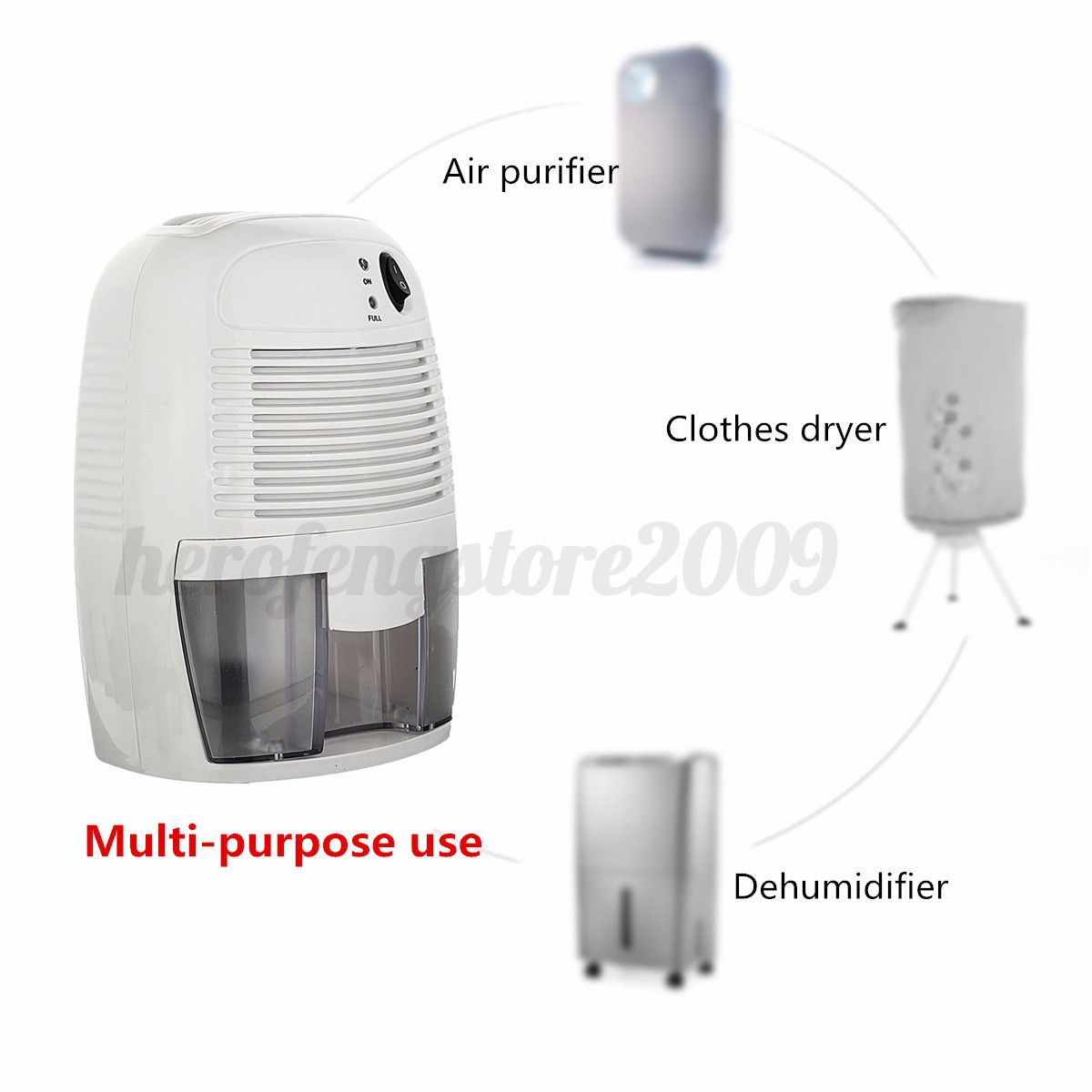 Electric Home Air Room Mini Dehumidifier Drying Moisture Absorber #B51618