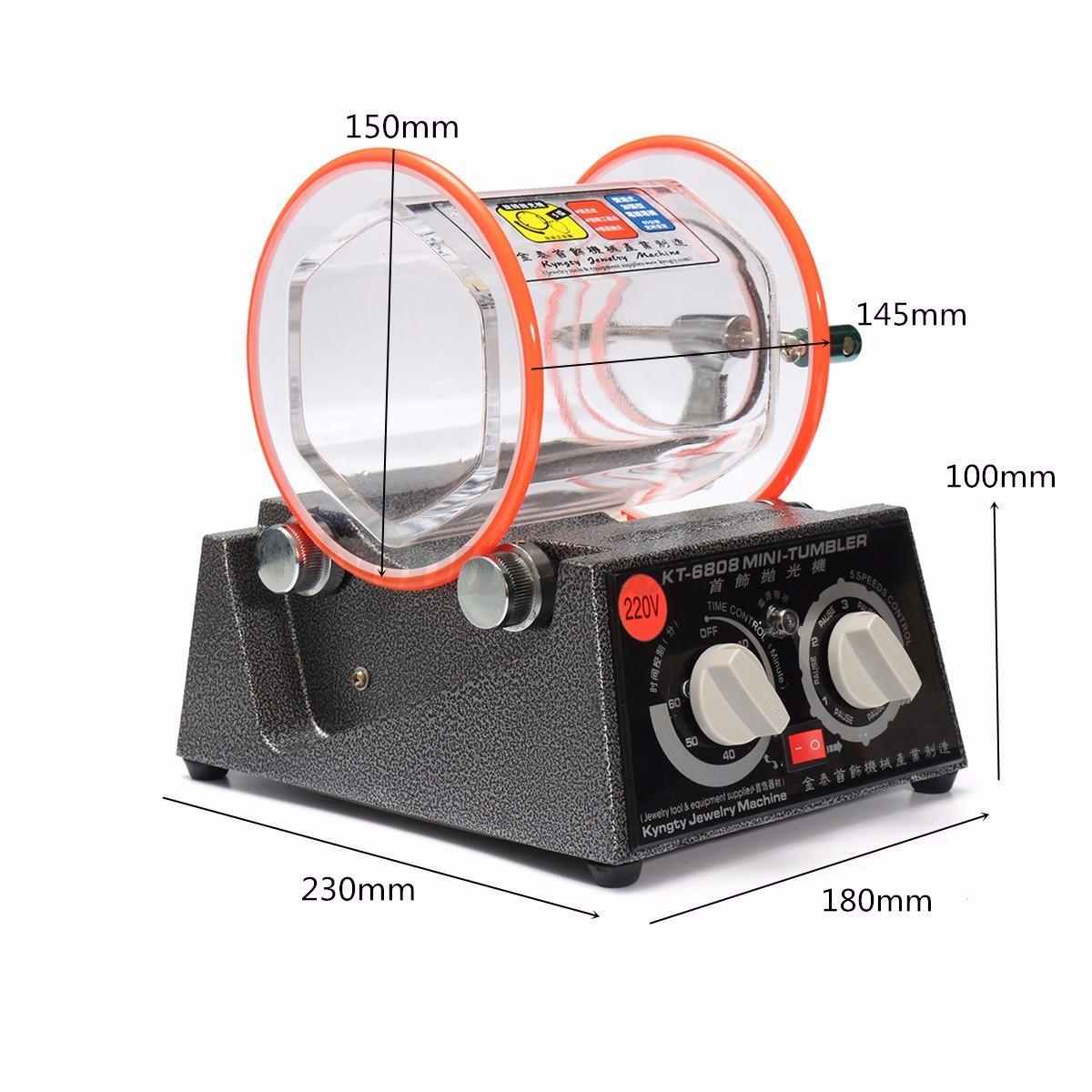 tumbler polisher machine