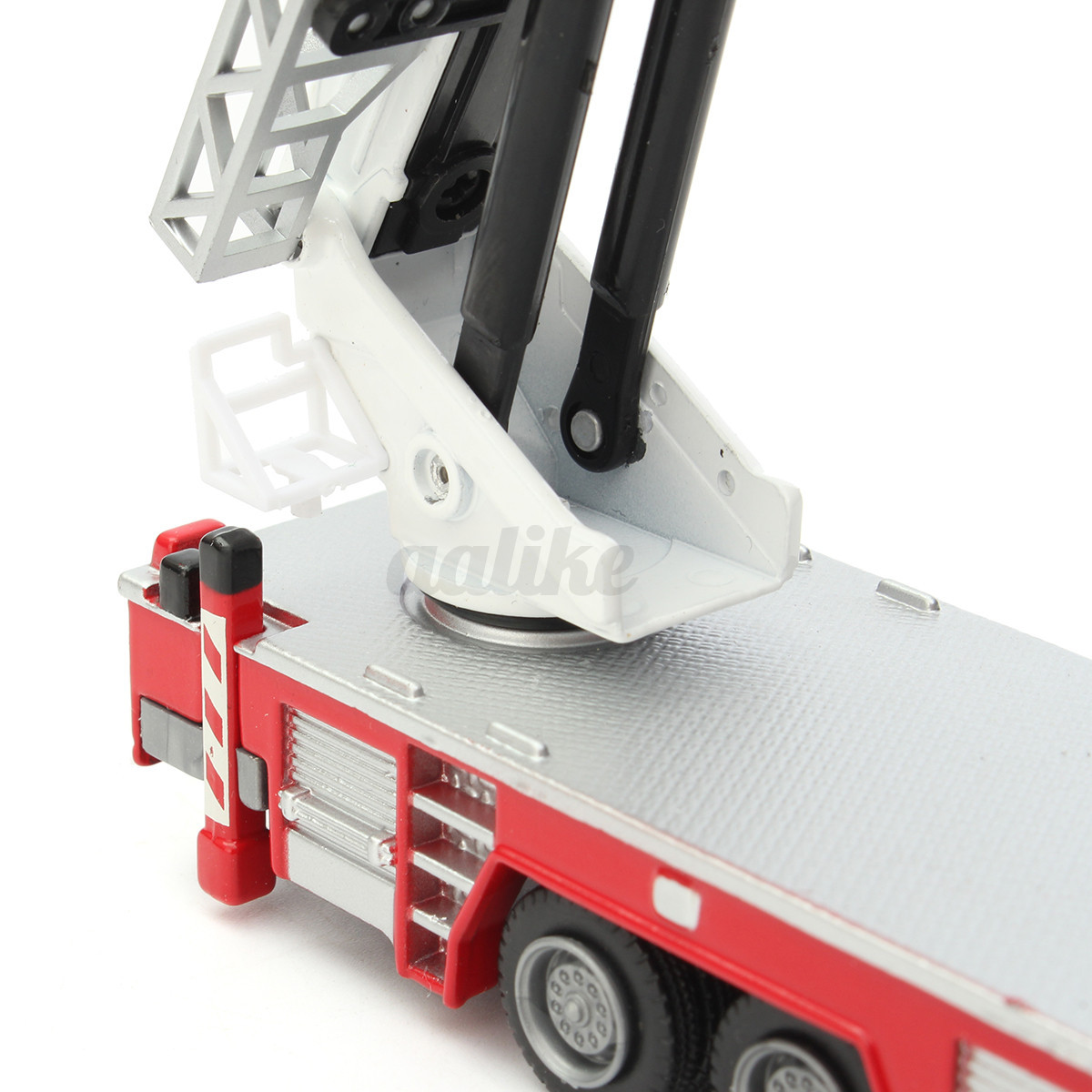 50 diecast aerial fire truck construction vehicle cars model scale