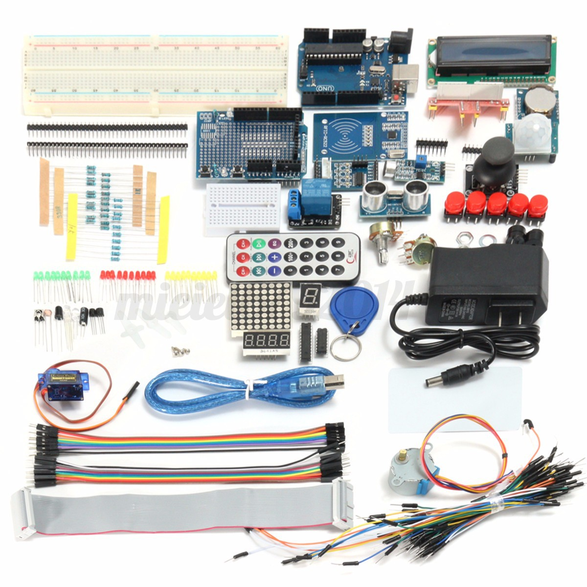 Uno r starter kit full edition for arduino lcd rfid