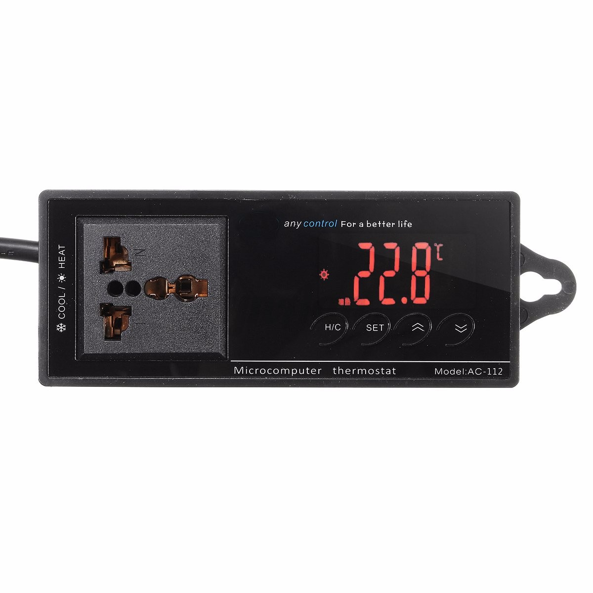 Incubator Thermostat Aquarium Temperature Controller Socket eBay #B51E16