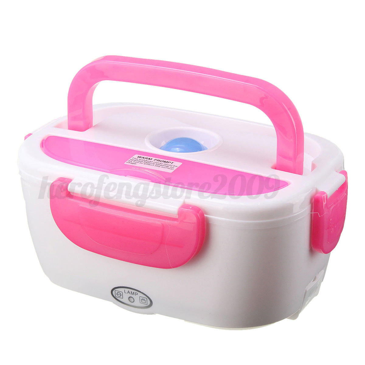 Portable Food Warmer Box ~ Portable car plug electric heating lunch box bento healthy