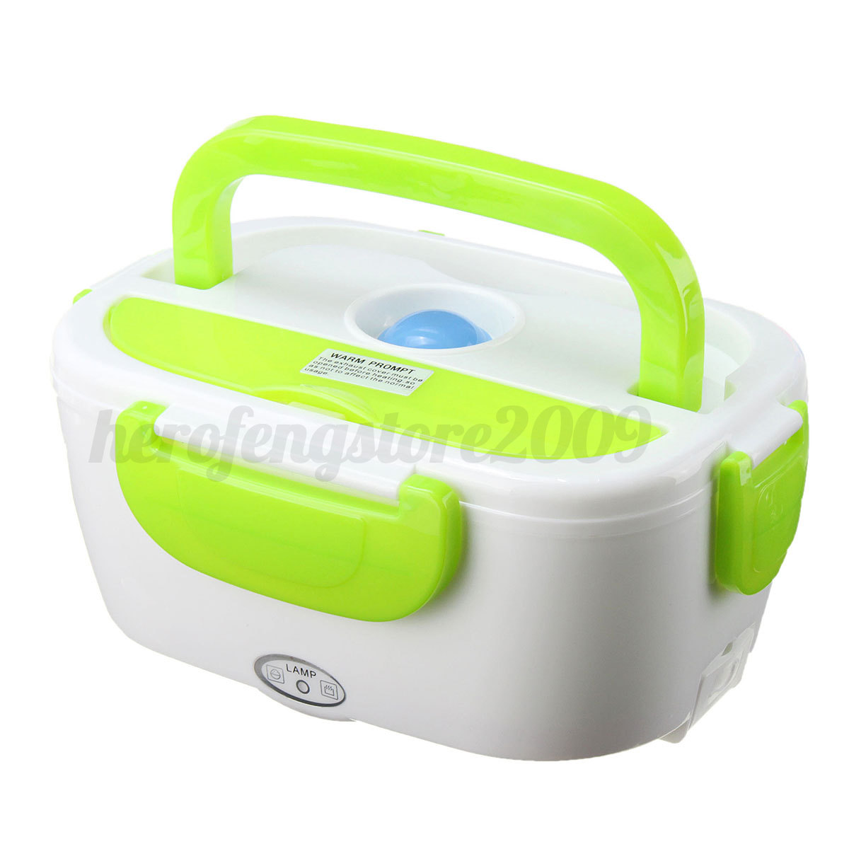 portable car plug electric heating lunch box bento healthy food warmer container ebay. Black Bedroom Furniture Sets. Home Design Ideas