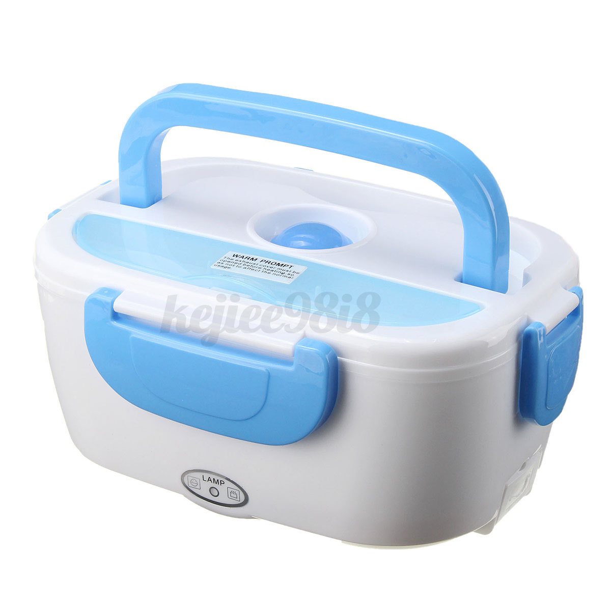 portable 12v car plug heating lunch box electric heated bento food warmer 1 0. Black Bedroom Furniture Sets. Home Design Ideas