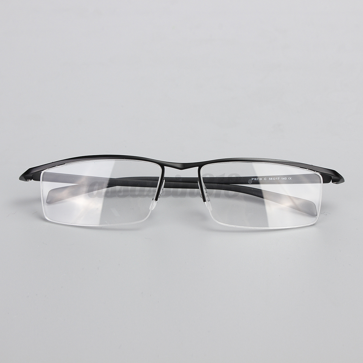 Rimless Glasses Titanium : Men Half Rimless Titanium Eyeglass Frame Spectacles ...
