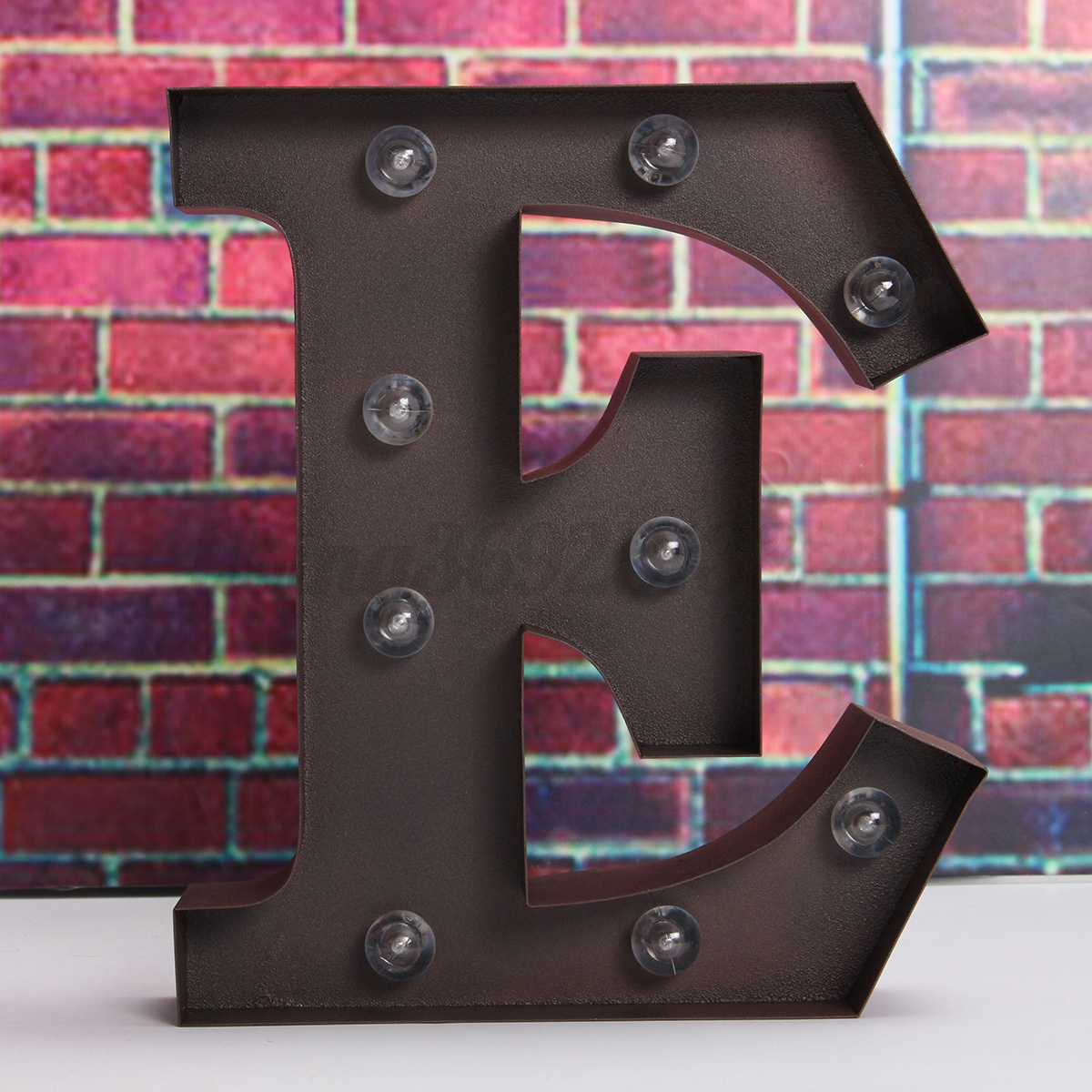 9 39 39 led metal marquee alphabet letter lights circus for Letras decoracion metal