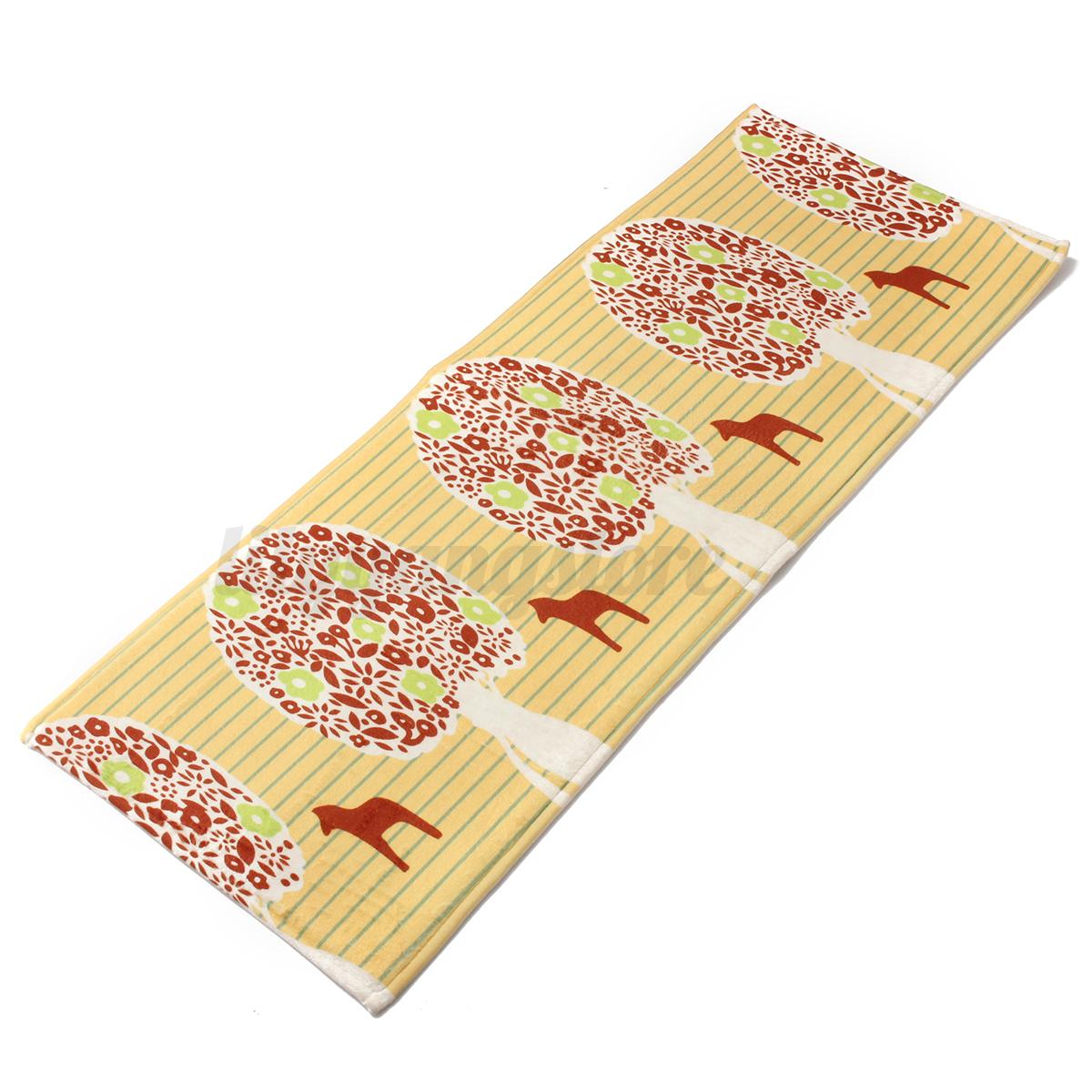 120x45cm Cushion Floral Carpet NON Slip Chef Kitchen