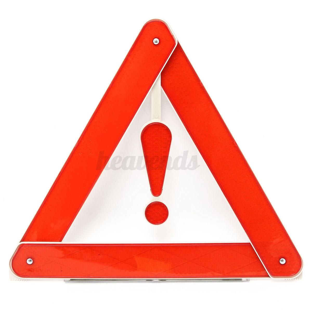 avertissement s curit triangle urgence rouge r flective. Black Bedroom Furniture Sets. Home Design Ideas