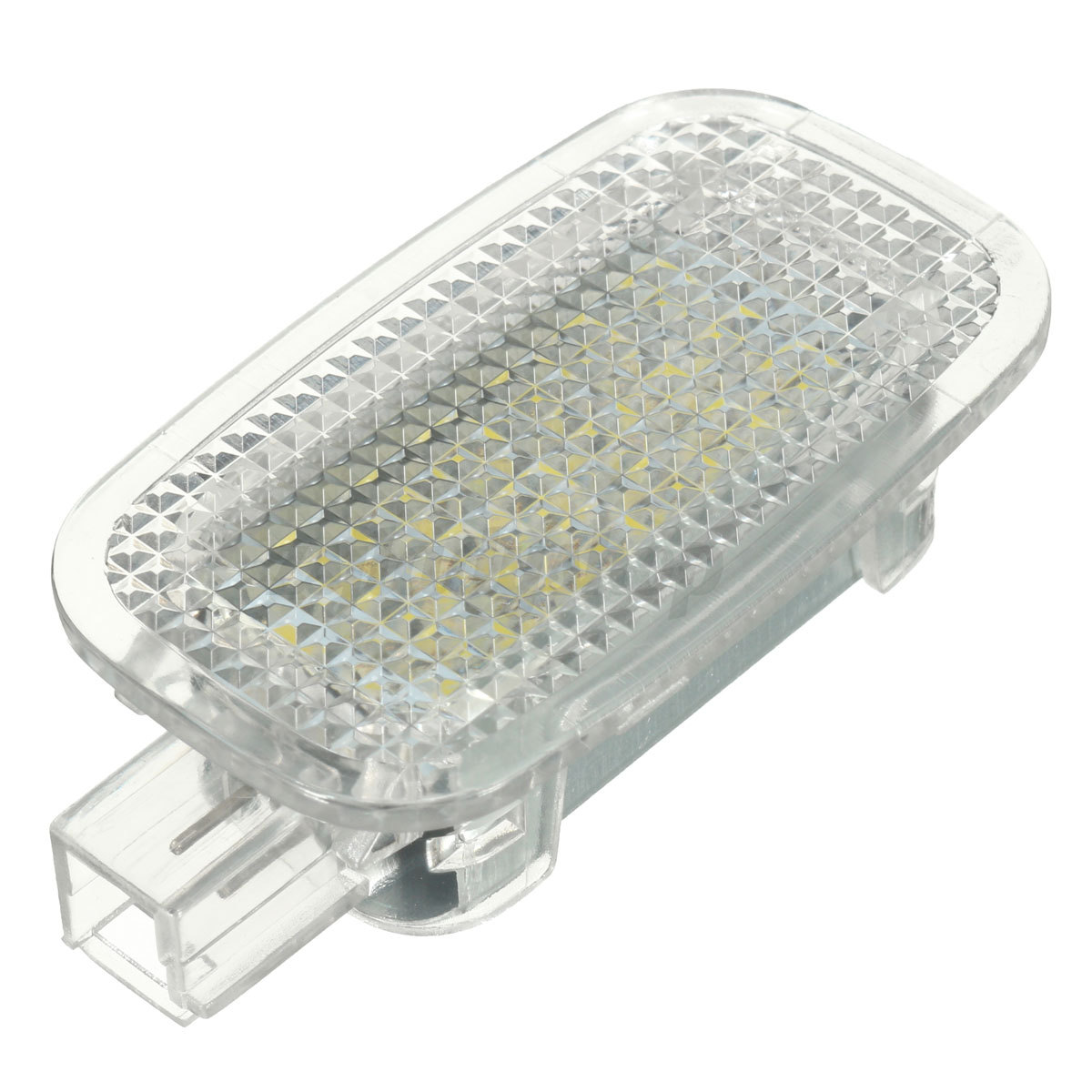 2x Led Courtesy Luggage Footwell Trunk Light For Mercedes