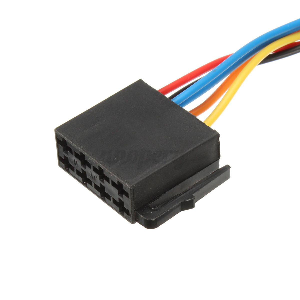 Iso car radio stereo harness adapter wiring connector for