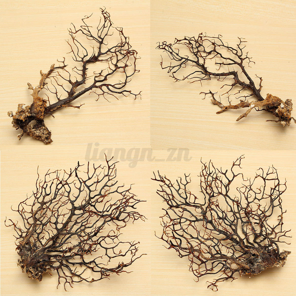 Arbre Artificielle Plantons Aquatique pr Fish Tank Aquarium Ornement Décoration 5
