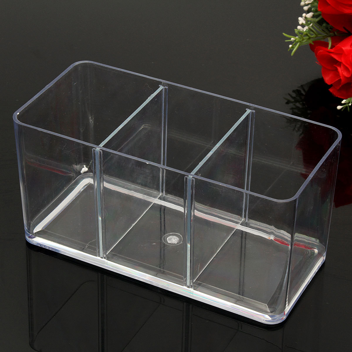 Acrylic tank three way fighting betta fish display case for How to build an acrylic fish tank