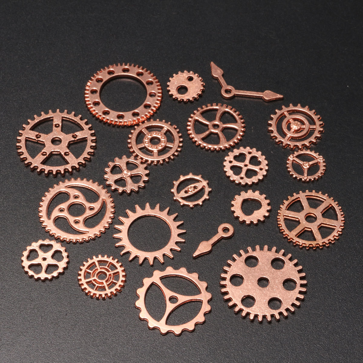 2 Of 8 20PCS Vintage Steampunk Watch Clock Parts Gear Cogs Wheels Jewelry Crafts DIY
