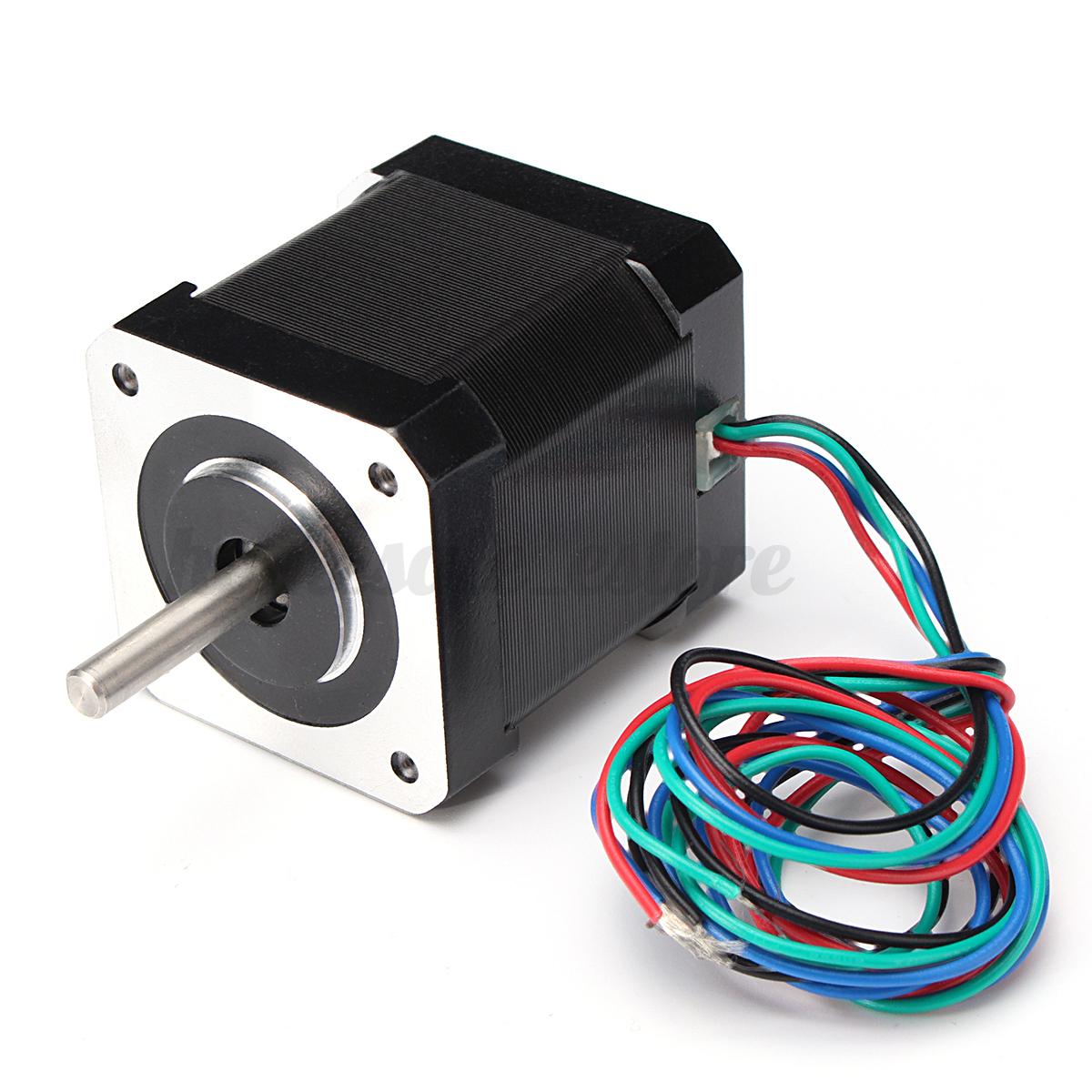 3d Printer Cnc Nema 17 Stepper Motor Bipolar 1 7a 59ncm