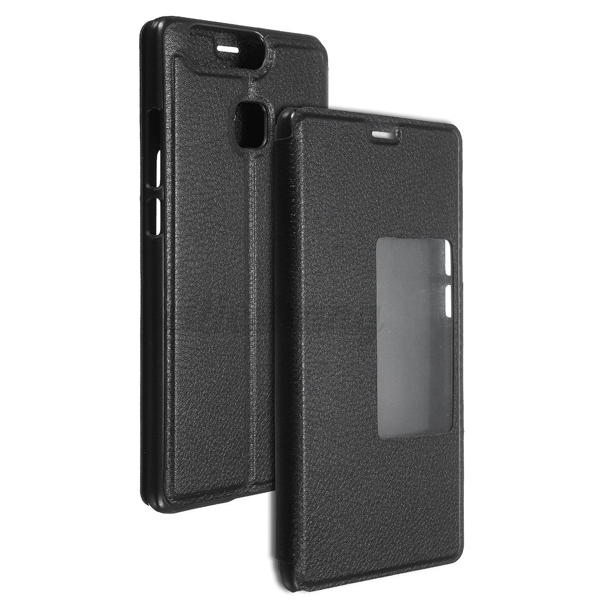 Magnetico flip cover custodia pelle smart finestra vista - Cover con finestra ...