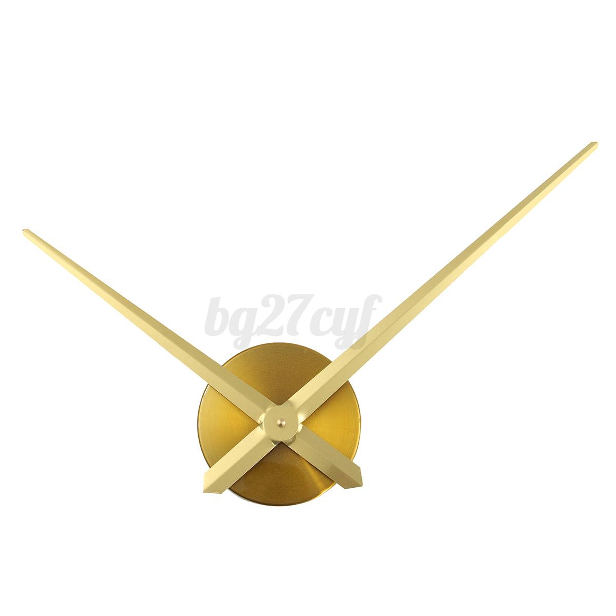 Large Silent Quartz Diy Wall Clock Movement Hands