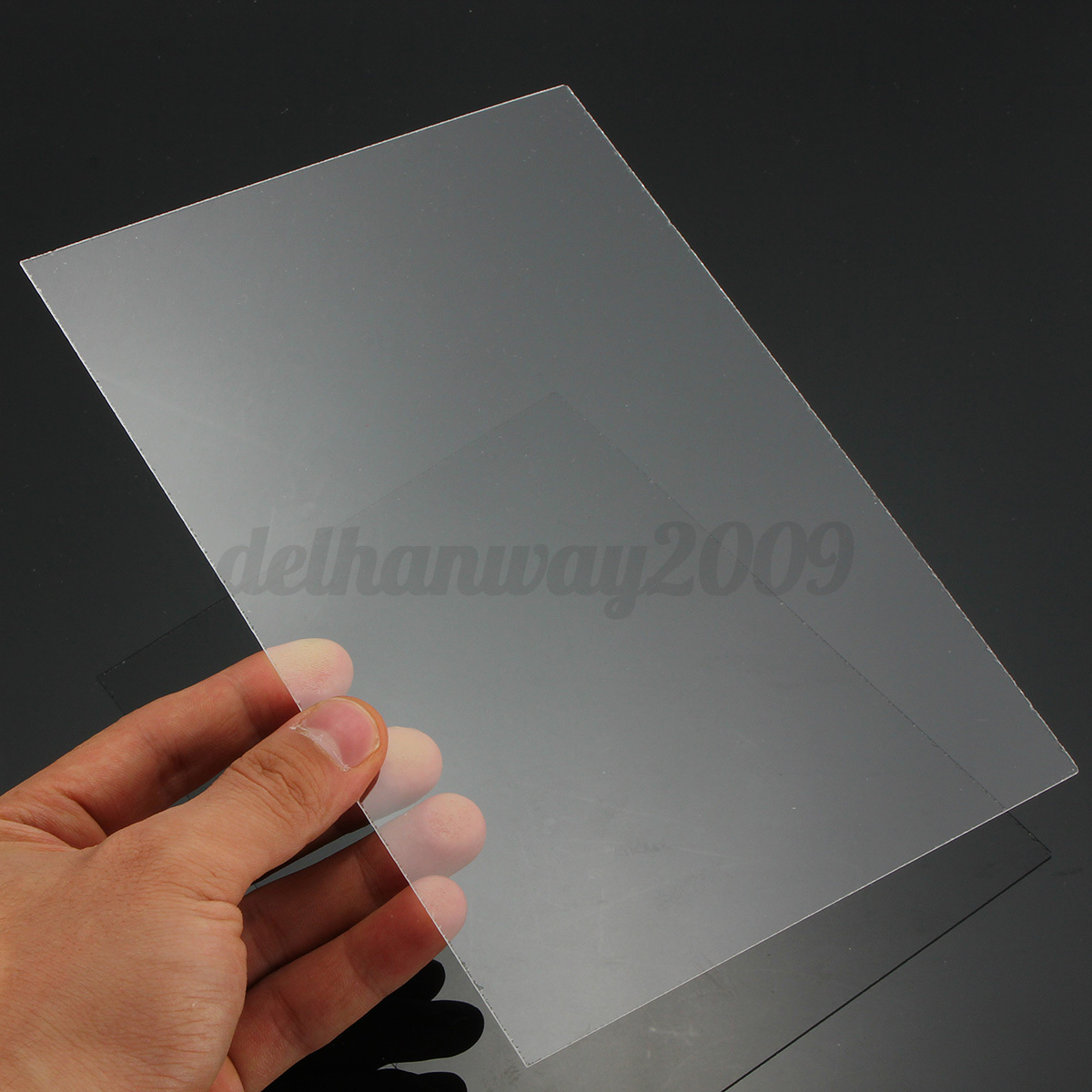 1mm a5 clear acrylic perspex sheet plexiglass cut to size for Mirror cut to size
