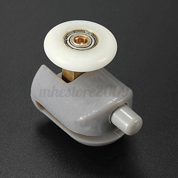 Galet rouleau roulette roue porte douche coulissante salle - Roulette de porte de douche ...