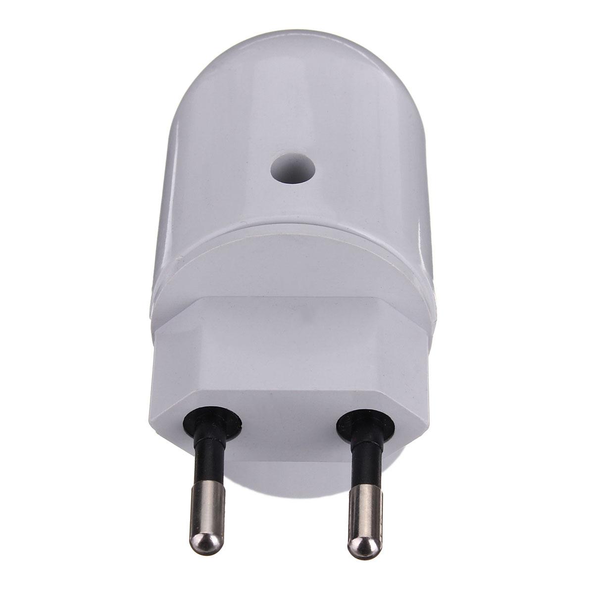 e27 culot prise eu plug led lampe titulaire rotatif convertisseur bouton on off ebay. Black Bedroom Furniture Sets. Home Design Ideas