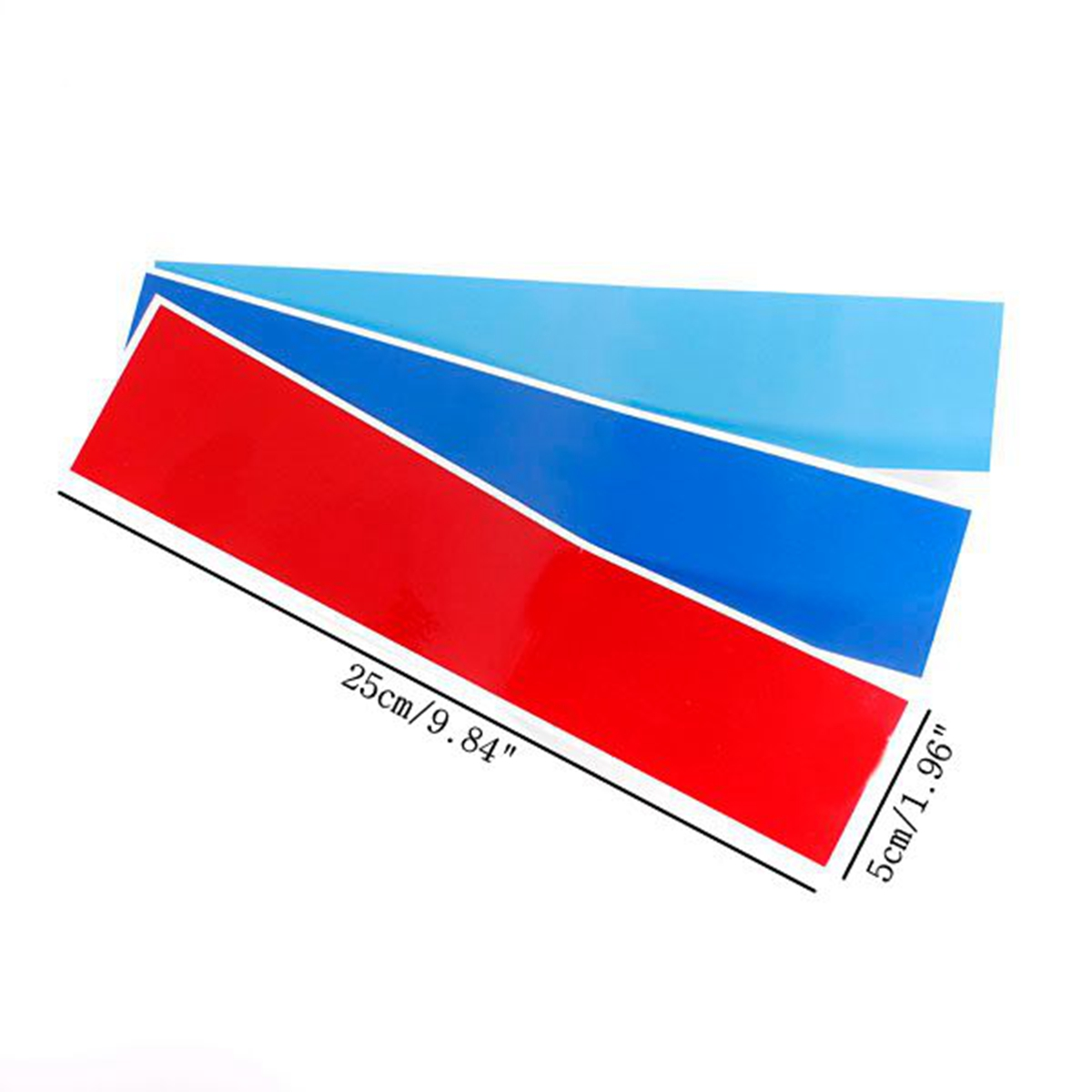GRILLE KIDNEY M SPORT STRIPE COLOR DECAL VINYL STICKER FOR BMW - Bmw m colored kidney grille stripe decals