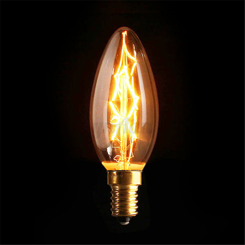 e27 e14 b22 40w 60w edison gl hbirne vintage retro lampe filament leuchtmittel ebay. Black Bedroom Furniture Sets. Home Design Ideas