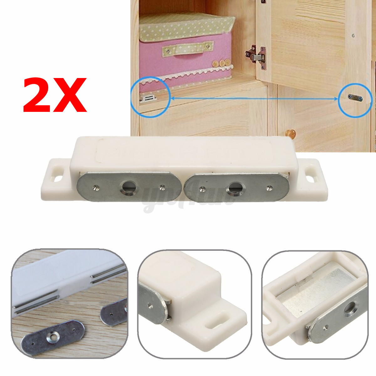 kitchen cabinet magnetic latches magnetic catch kitchen cabinet cupboard door heavy 5576