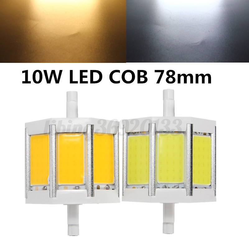 10 15 20 25w r7s led cob leuchtmittel 78 135 118mm stab fluter brenner dimmbar ebay. Black Bedroom Furniture Sets. Home Design Ideas