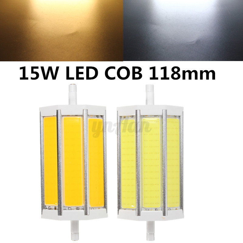 R7s led 78 118 135 189mm cob 5050 2835 5730 5630 smd - Ampoule led r7s 118mm dimmable ...