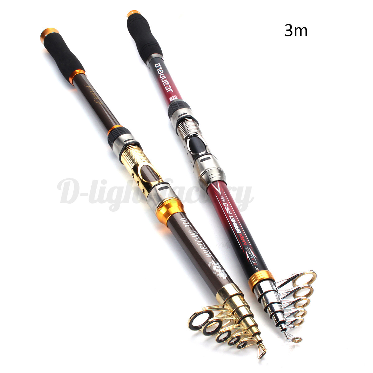2 1 Super Strong Carbon Telescopic Spinning Pole